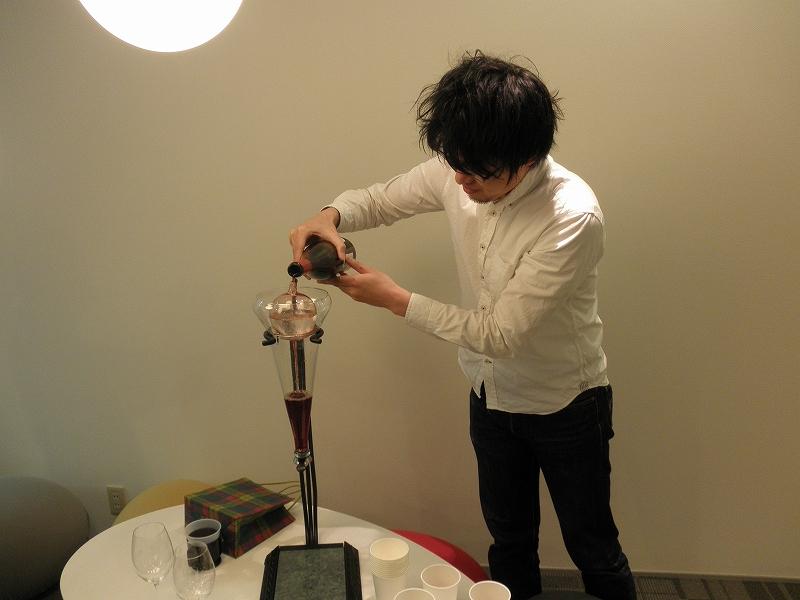 実藤さんワイン1
