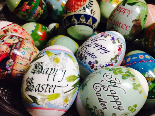 イースターの卵