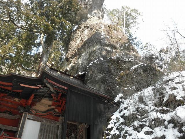 榛名神社_御姿岩